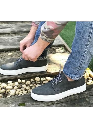 Chekich CH005 BT Erkek Ayakkabı ANTRASıT Antrasit